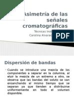 Asimetría de Las Señales Cromatográficas
