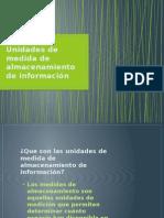 Unidades de Medida Informatica