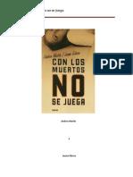 (Esquius 01) Con Los Muertos No Se Juega - Andreu Martin