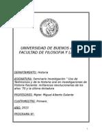 2013 - Uso de Testimonios y de La Historia Oral en Investigaciones de Historia Reciente - Galante (1)