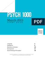 Psych March WUCK Exams 1