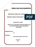 Tesis - biotecnología