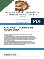 Calificacion de Procedimientos y Certficacion de Soldadores 1