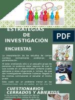 Estratecgias de Investigación