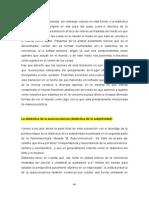 La Dialéctica de La Autoconciencia (Dialéctica de La Subjetividad)