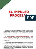 El Impulso Procesal (3 Diapo)
