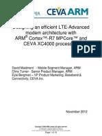 ARM-CEVA LTE-Advanced White Paper Final