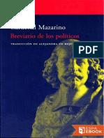 Breviario de Los Politicos - Cardenal Mazarino (4)