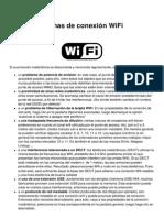 Wifi Problemas de Conexión