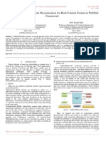 Optimal Customized Content Dissemination for Rich Content Format in Pub Ub Framework