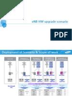 Samsung TD-LTE ENB HW Upgrade Scenario