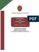 Reformas Del Codigo Penal 2015 Tablas Comparativas