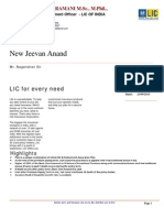 LIC Model Quatation