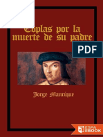 Coplas Por La Muerte de Su Padre - Jorge Manrique