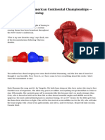 Women's Boxing American Continental Championships -- Day 4|Sarah Deming