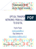 Optical Transport Networks