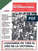 Revista Internacional - Nuestra Epoca N°3 - Edición Chilena - Marzo 1986