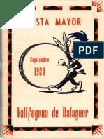 Festa Major de Sant Miquel, 1960