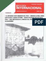 Revista Internacional - Nuestra Epoca N°4 - Edición Chilena - Abril 1986