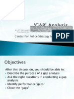 Module 4 (Gap Analysis)