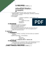 Chettinadu Easy Recipes Method