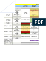 JS Schedule - Term II - Wk 15 (8 Mar - 14 Mar 2015) - V02