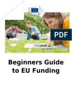 Beginners Guide to EU Funding