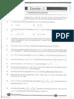 Quadratic Eqations