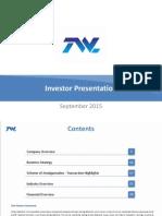 Corporate Presentation [Company Update]