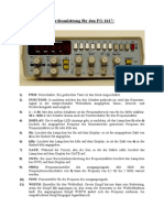 FG1617 controls explanation