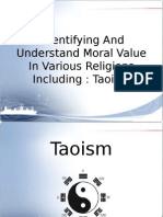 Moral Value in Presentation - Taoism