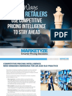 Marketyze Competitive Pricing Intelligence