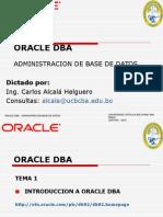 Introduccion Oracle DBA Juniors