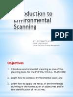 MODULE 5 (Environmental Scanning)