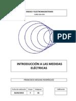 Practica 1(Introduccion a Las Medidas Electricas)