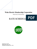 Wake-Electric-Membership-Corp-RATE-SCHEDULES