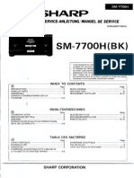 Sharp Sm7700h