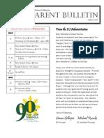 ES Parent Bulletin Vol#14 2010 Mar 12