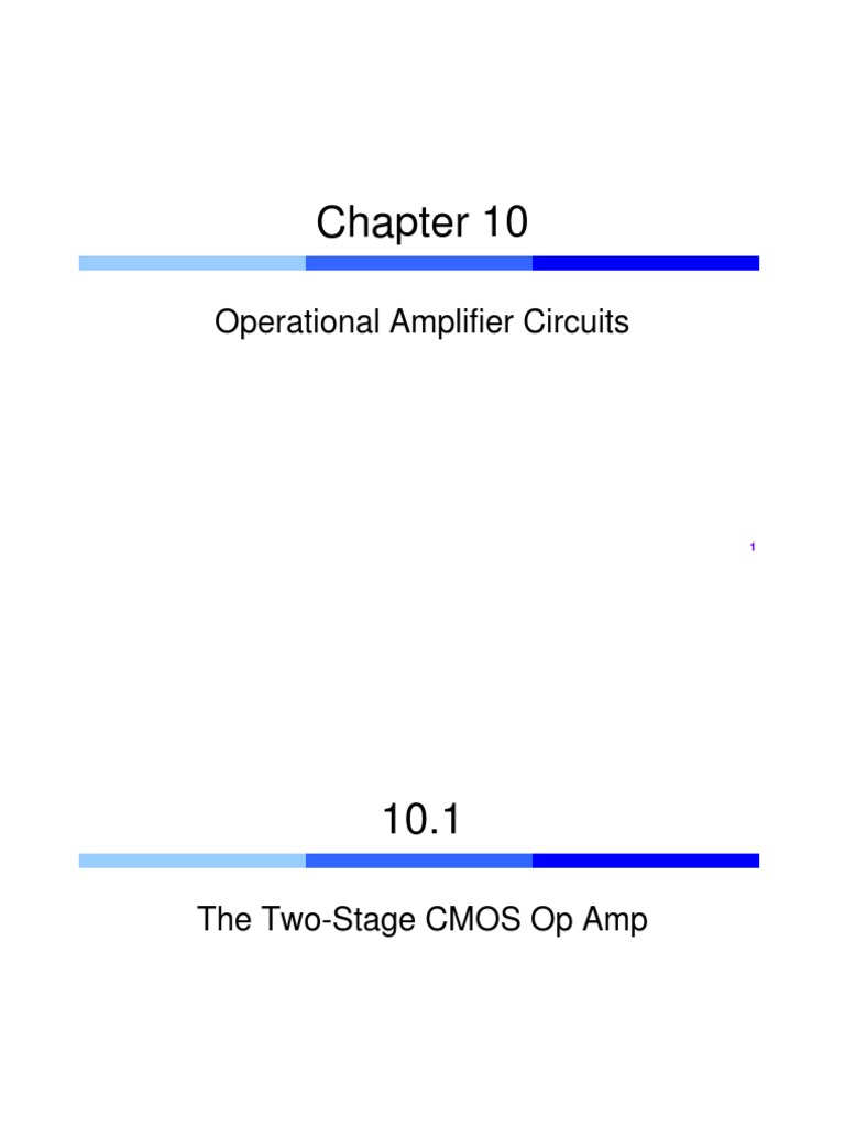 Aip Introduction Operational Amplifier Cmos Inverter Parallel Lc Oscillator Oscillatorcircuit Signal