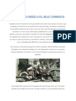 Assassin's Creed II Pc Jeux Torrents