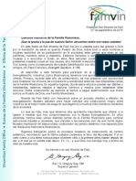 [ESP] Superior General para la Familia Vicenciana - fiesta SVP 2015