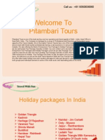The Best Tour Operators and Travel Agents in india | Pitambari Tours