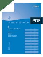 Manual Tecnico Portero Tablas Tegui