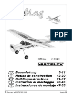 Multiplex Minimag Model Rc Airplane Manual M13209