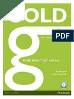 Gold First Exam Maximiser Workb 2015