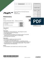 AQA-43601H-QP-NOV14