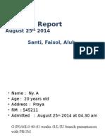 MORNING REPORT 25 Agustus 2014-Vk Pagi