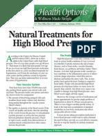 EZ-PR199-15 Natural Treatments for High Blood PressureWEB