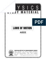NARAYANA Study Material - Laws of Motion