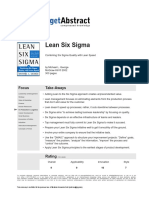 Lean Six Sigma - George